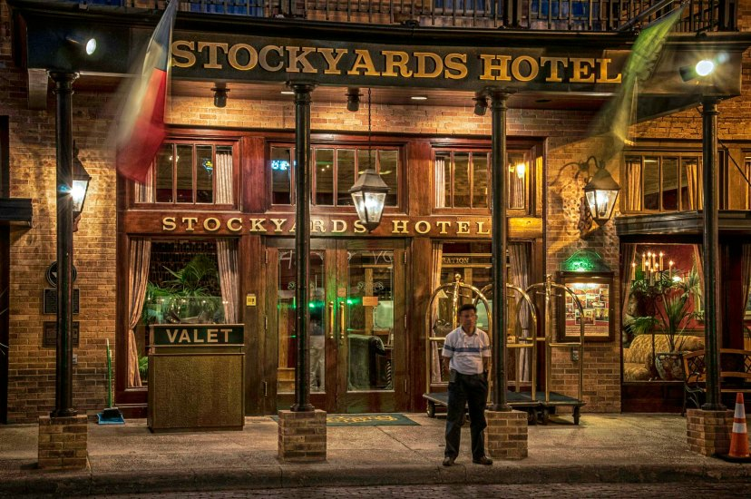 Great escape from Houston to Stockyards hotel with your Dog.