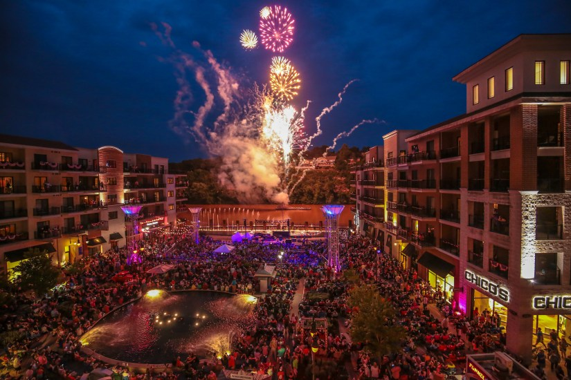Branson Landing is a major attraction in the city that is haven for shoppers.