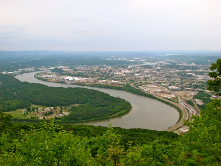 Beautiful view of Chattanooga