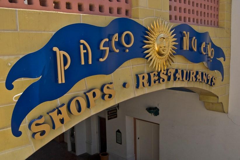 Visiting the Paseo Nuevo in Santa Barbara during the holidays can be exceptionally rewarding.