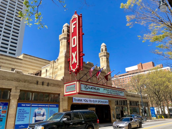 The Fox Theatre, Midtown, Atlanta