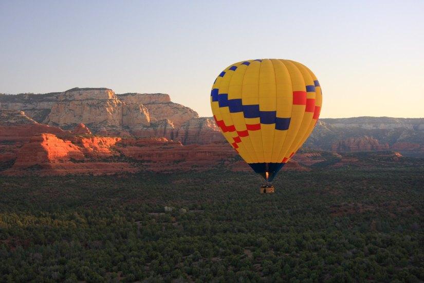 Air Balloon Ride at Sedona