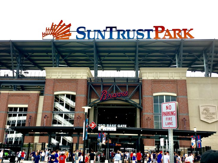 Atlanta Suntrust Stadium