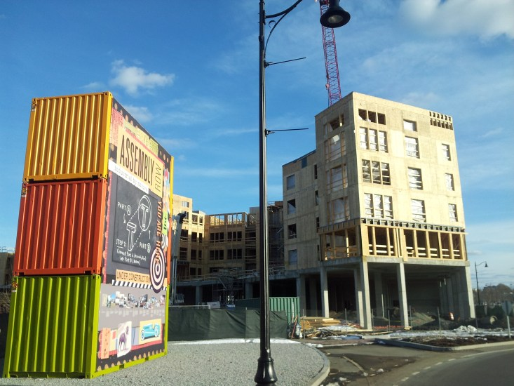 Assembly Row is a great shopping and entertainment center in the city of Somerville.