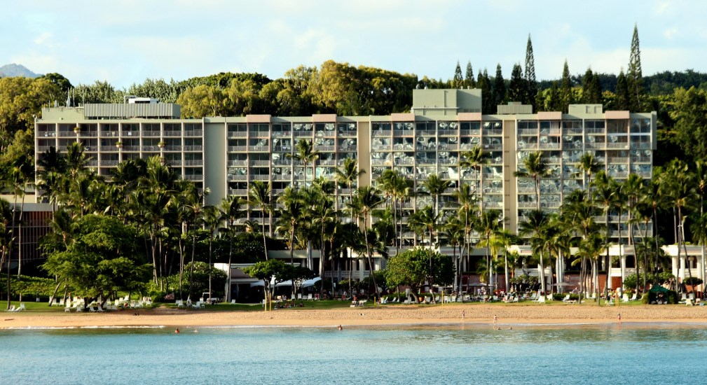 The waves at the beach in Lihue are usually gentle, so it is a safe place to visit with your kids.