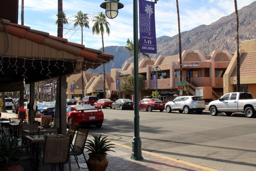 Palm Canyon Drive is a good place in Palm Springs for the visitors to start exploring the city.