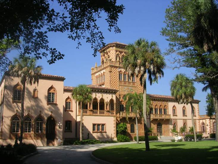 At John & Mable Ringling Museum of Art on Bay Shore Sarasota, Here you will find a number of pieces representing art and architecture from different eras in the world.