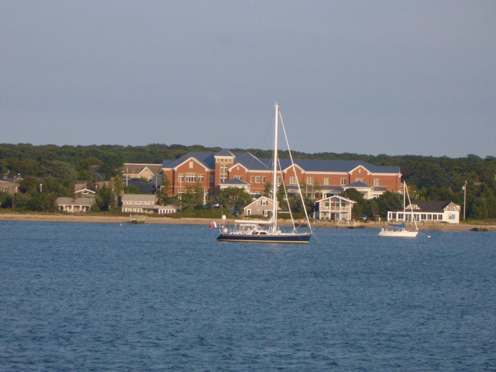 Martha's Vineyard is the largest island of New England in  Massachusetts