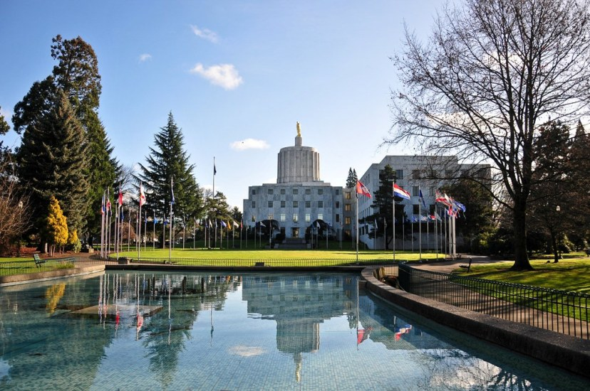 Oregon State Capitol is one of the most remarkable places in Salem