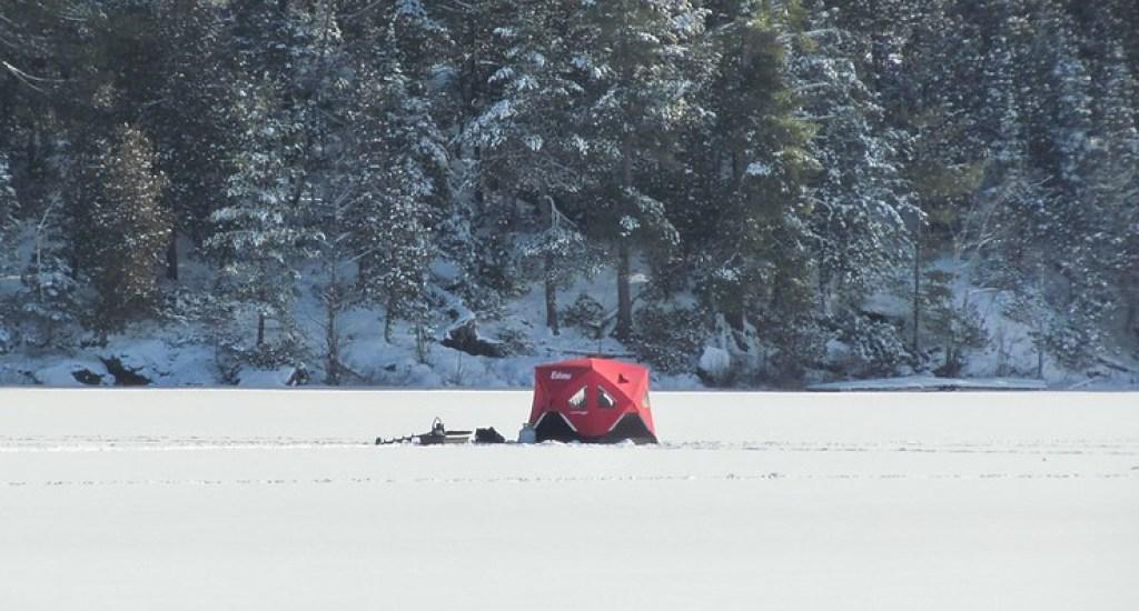 Ice fishing, Canada