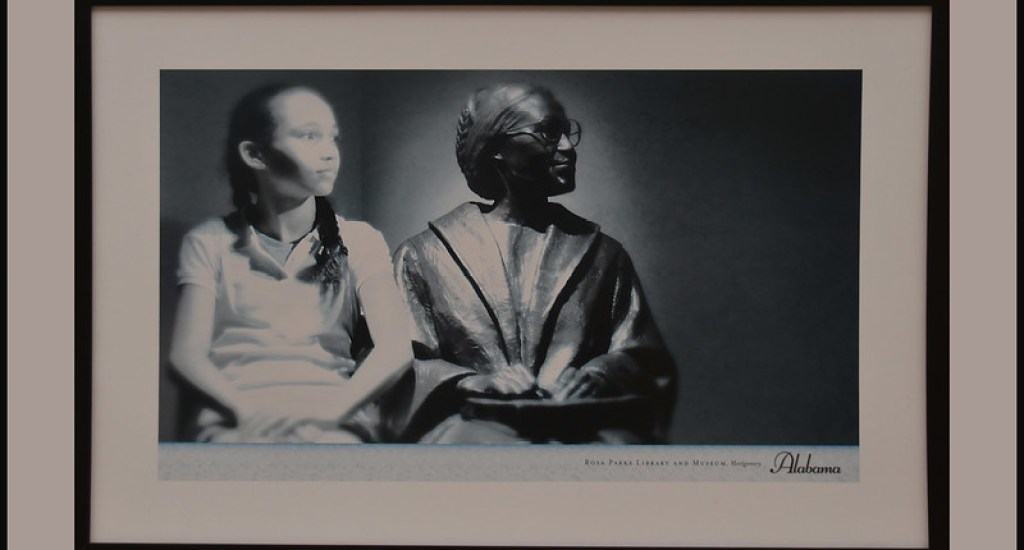 'Rosa Parks' -- Rosa Parks Library and Museum Montgomery, AL