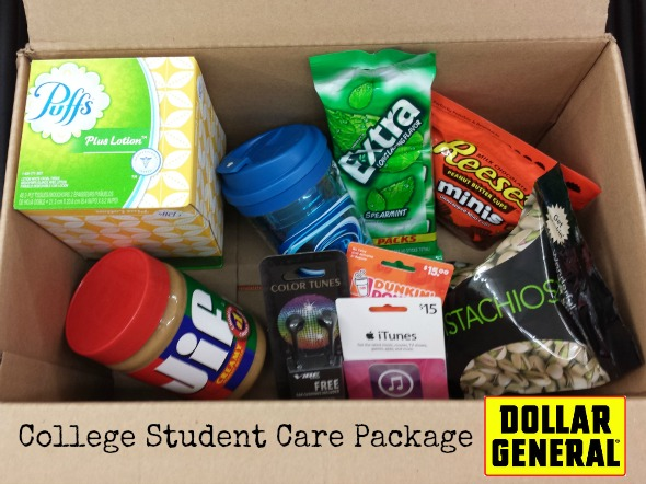 college student care package