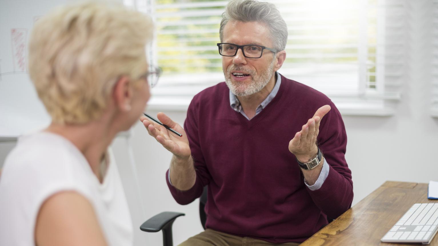 Argument-middle aged couple(CC)