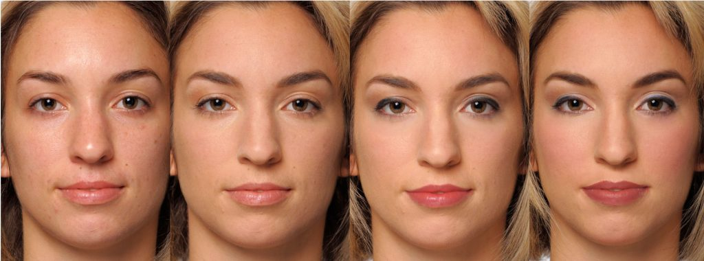 FF-White Models-Cosmetic Effect on Competence