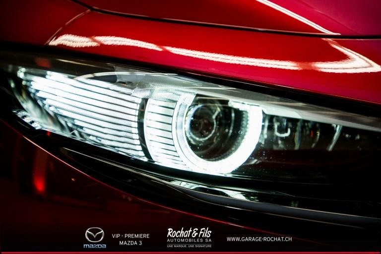 Soirée VIP Première - Mazda 3 - Garage Rochat & Fils à Crissier