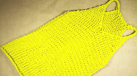 How To Loom Knit A Tank Top
