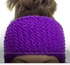 Loom Knit A Seed Stitch Headband