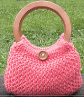 Loom Knit A Handbag - An Easy Pattern For Beginners or Pros