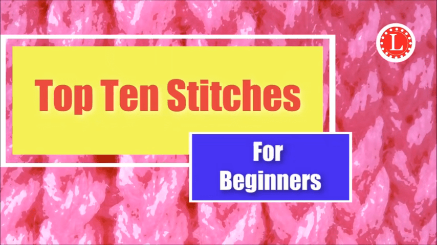 Ten Loom Knit Stitches Loom Knitters Should Learn.