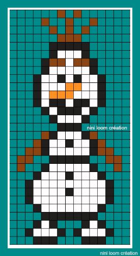 Pixel Art La Reine Des Neiges : pixel, reine, neiges