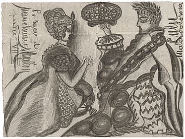 Le Sacre de Marie-Louise et Napoléon par Pie VII