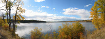 Salmon Lake vista by Richard Mayer :: The LOONS Flyfishing Club