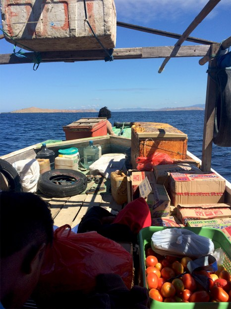 On a journey like this one, its very rare i get to change the mode of travelling. Between islands, i took ferries and small boats. One of those trips..