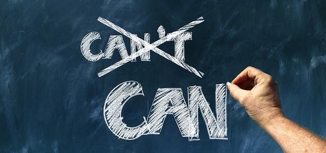 positief denken, omdenken, helpt bij het bereiken van je doelen