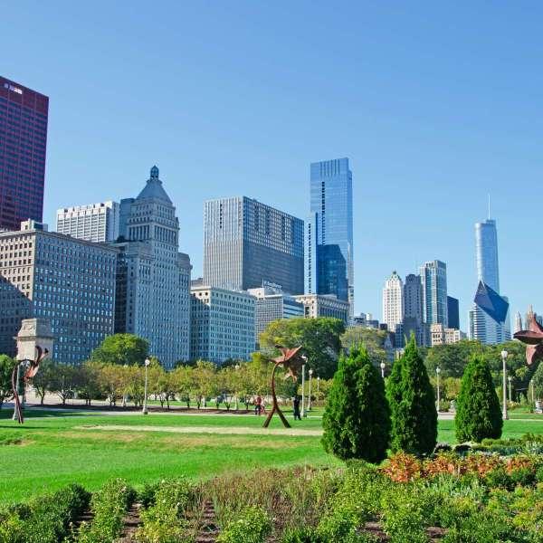 Grant Park Loop Chicago