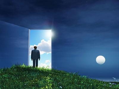 Bring your dreams into reality. Cross over the door.