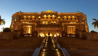 Emirates Palace!