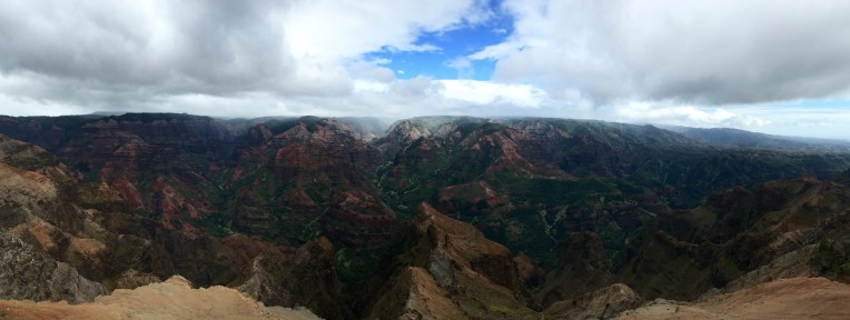Panorama of Waimea Canyon