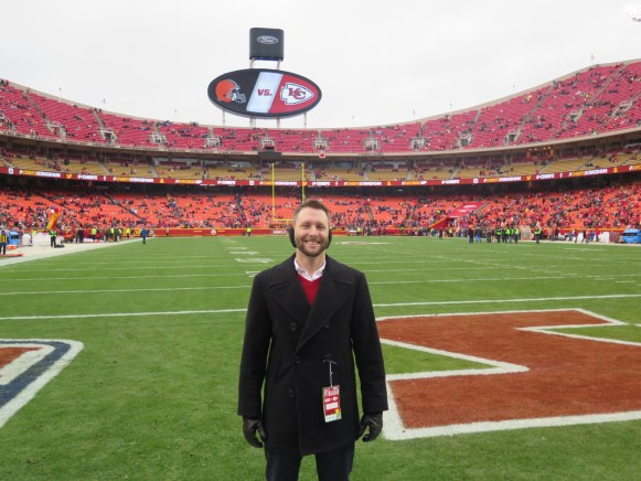 On the Field at Arrowhead