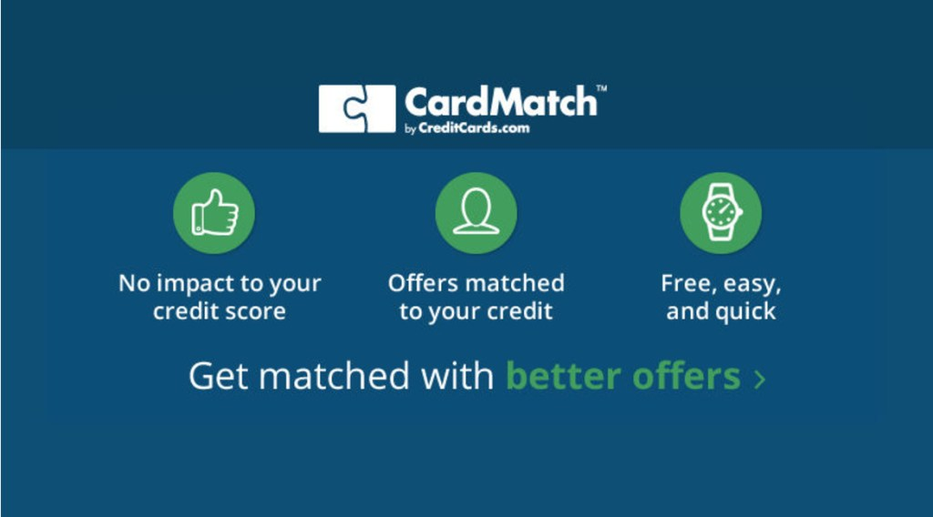 find personalized credit card offers with card match - Personalized Credit Cards