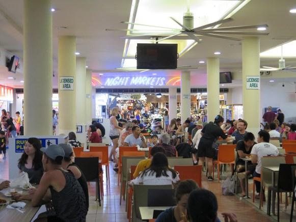 Busy Night Market