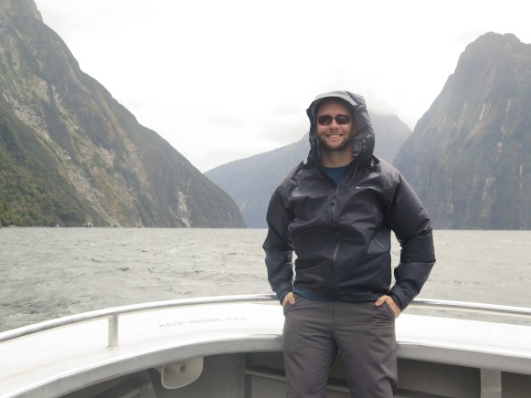 Blocking the Wind and Mist on Milford Sound