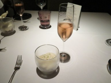 Course 1 - Wagyu Beef & Sydney Rock Oyster Tartare w/ Sparkling Rose