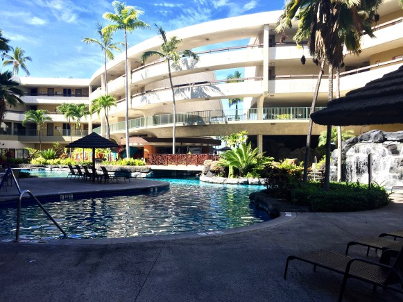 Pool and central courtyard