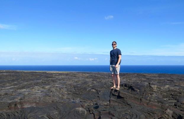 Lava Fields in Hawaii