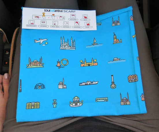 Free Touristanbul scarf