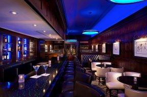 Swanky Blue Bar.