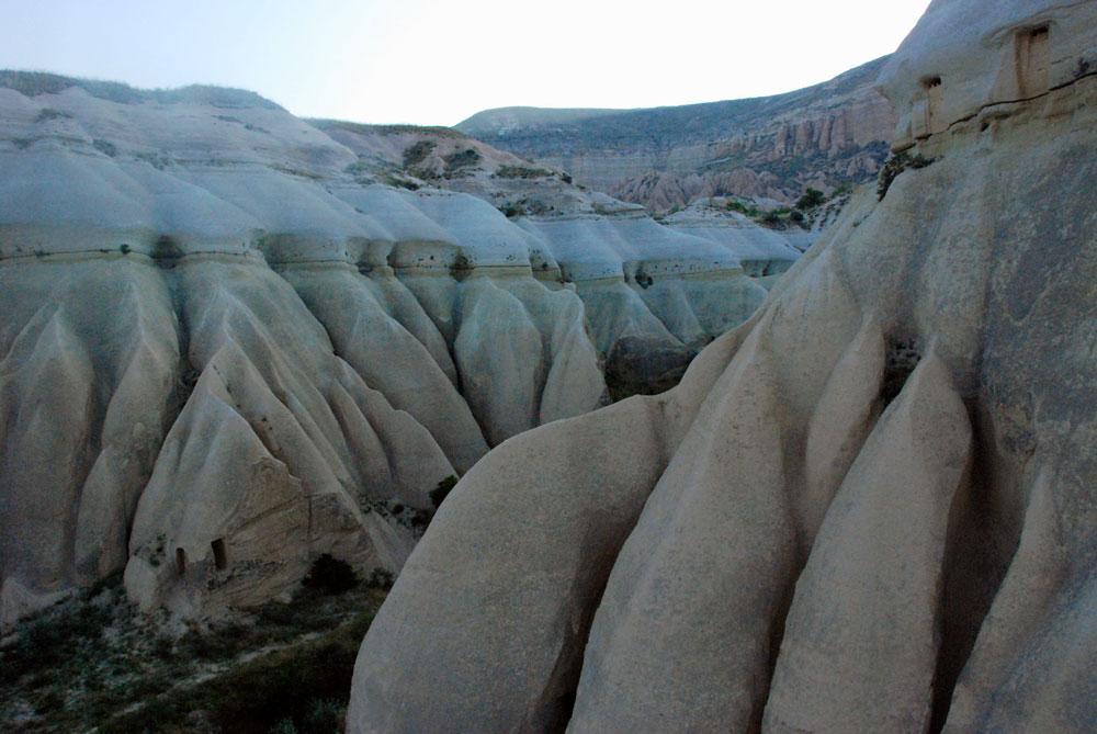 Landschaft Felsen Kappadokien