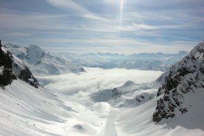 Skirunde am Arlberg