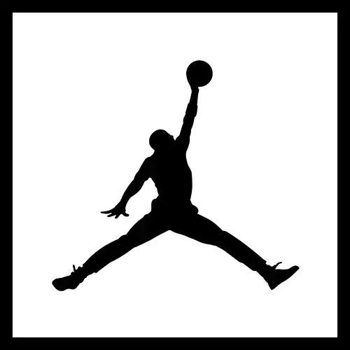 Air Jordan Size Guide Image With Jordan Logo