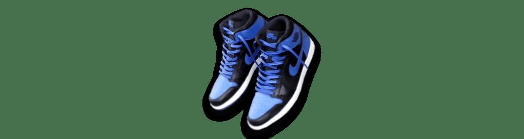 royal blue leather shoe laces in jordans