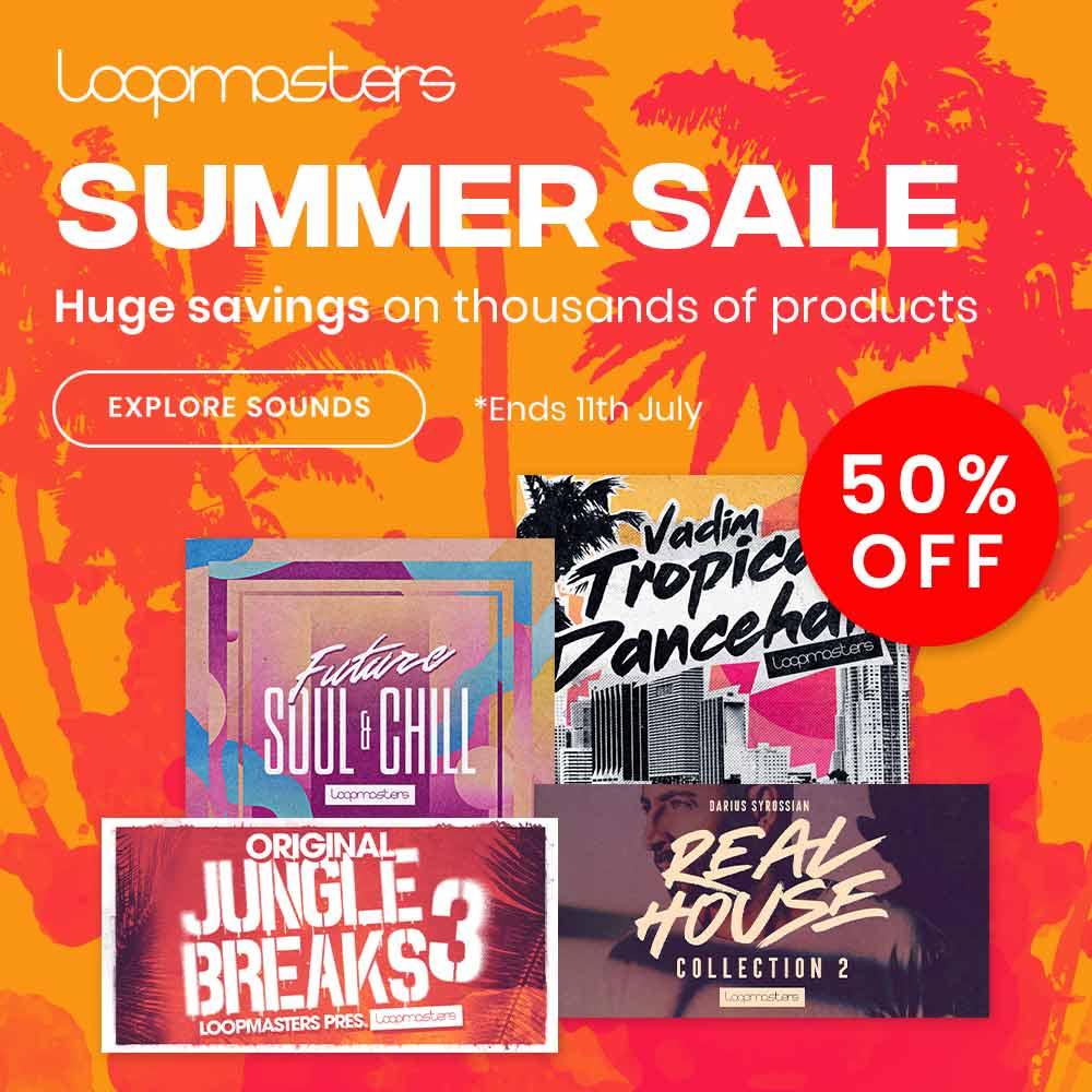 Loopmasters Sample Music Sale