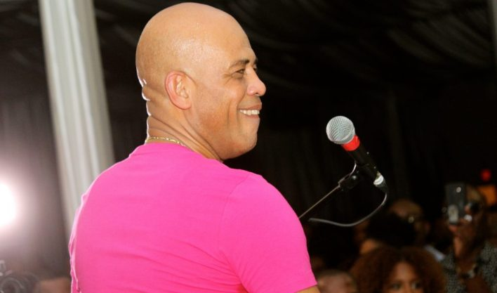 Michel Martelly sur scène. Photo: KONPAEVENTS.COM