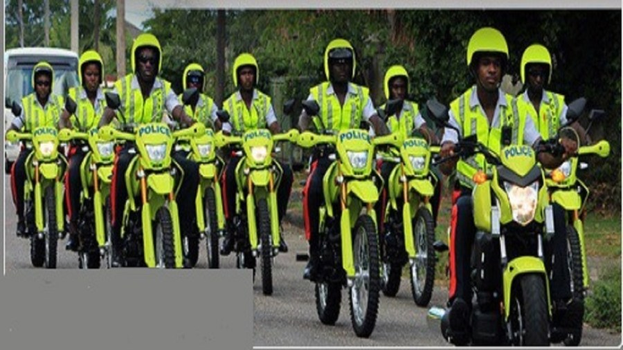 Image result for jamaican police new green bikes