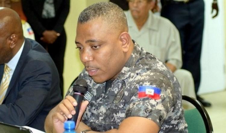 Michel-Ange Gédéon, Directeur Général de la PNH./Photo: Haitinews.