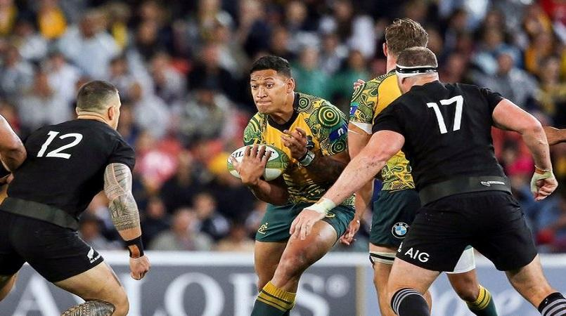 Rugby Australia To Talk To Folau Over Gay Comments Loop